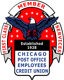 Chicago Post Office Employees Credit Union logo